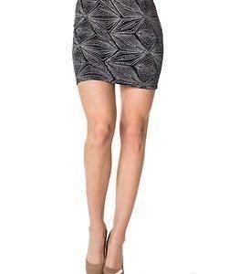 Noisy may Glitter Short Skirt Black