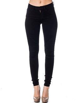 Noisy may Lucy Biker Jeans Black