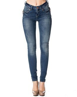 Noisy may Lucy NW Destroy Jeans Medium Blue Denim