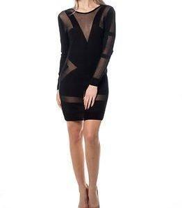 Noisy may Medow Knit Dress Black