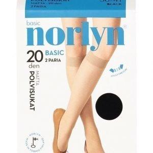 Norlyn Basic 20 Den Polvisukat 2-Pack