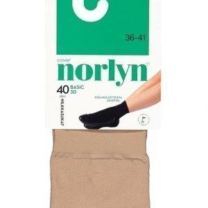Norlyn Basic 3d 40 Den Nilkkasukat