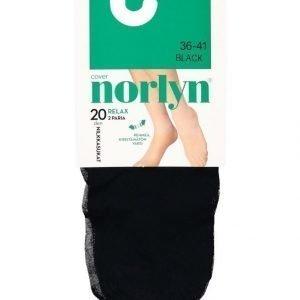 Norlyn Relax 20 Den Nilkkasukat 2-Pack