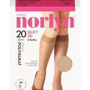 Norlyn Silky 3d 20 Den Polvisukat 2-Pack