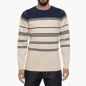 Norse Projects Godfred Compact Jersey Stripe