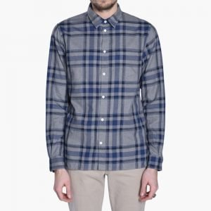 Norse Projects Hans Brushed Check