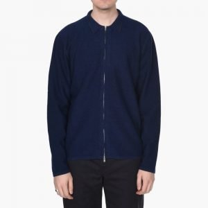Norse Projects Magne Zip Alpaca Knit