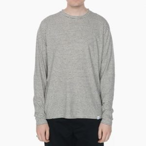 Norse Projects Niels Stripe Long Sleeve Tee