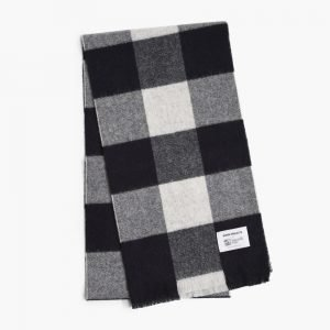 Norse Projects x Johnstons Check Scarf