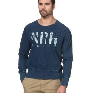 North Sails Ocean Blue Sweat V00 Blue