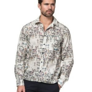 North Sails Printed Muslin Shirt V1 Photo Print
