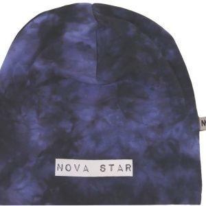 Nova Star Pipo W-Beanie Batik Purple Purple