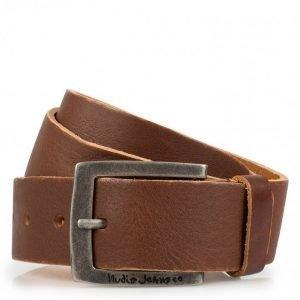 Nudie Jeans Antonsson Belt Vintage Used Vyö Brown