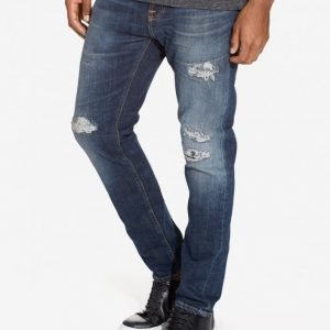 Nudie Jeans Brute Knut Blue Reed Farkut Denim