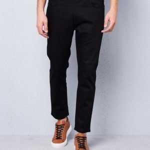 Nudie Jeans Brute Knut Dry Could Black Regular Tapered