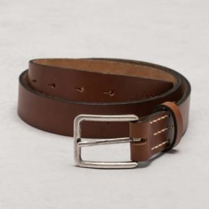 Nudie Jeans Frej Leather Belt Brown