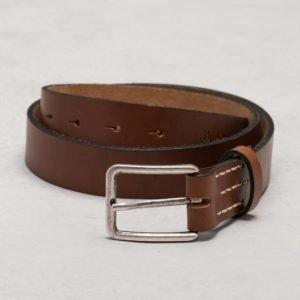 Nudie Jeans Frej Leather Belt Brown