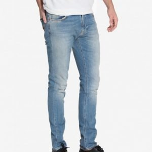 Nudie Jeans Grim Tim Best Coast Blues Farkut Denim
