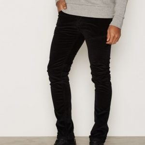 Nudie Jeans Grim Tim Black Cord Farkut Denim