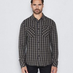 Nudie Jeans Gunnar Rope Twill Check Bunker