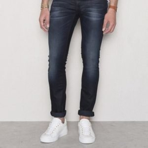 Nudie Jeans Long John Blue On Grey