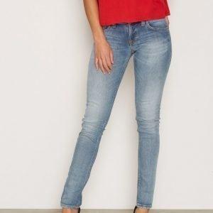 Nudie Jeans Long John Clean Stone Skinny Farkut Indigo