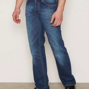 Nudie Jeans Loose Leif Classic Crumble Farkut Denim