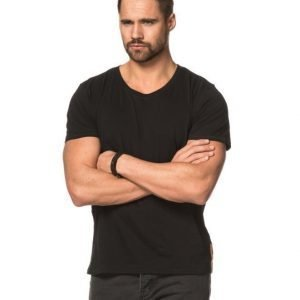 Nudie Jeans O - Neck Tee Black