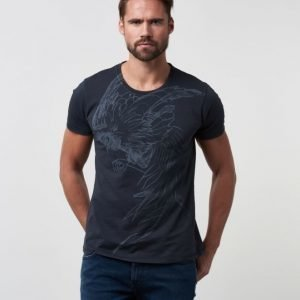 Nudie Jeans O -Neck Tee Rooster