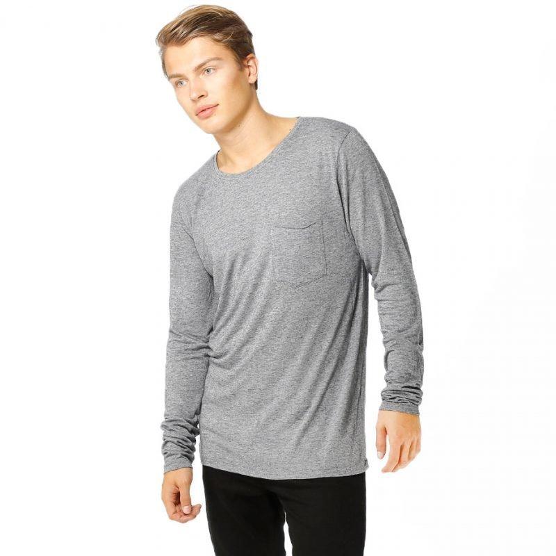 Nudie Jeans Orvar Pocket Wool -longsleeve