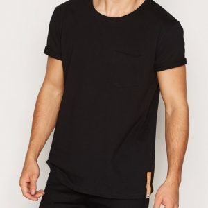 Nudie Jeans Ove Pocket Tee T-paita Black