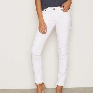 Nudie Jeans Skinny Lin Blazing White Farkut White