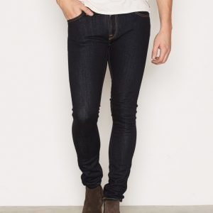 Nudie Jeans Skinny Lin Dry Deep Orange Farkut Denim