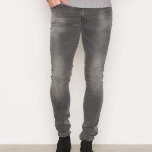 Nudie Jeans Skinny Lin Rough Stone Farkut Denim