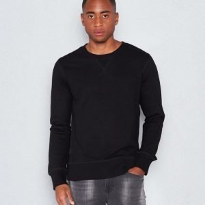 Nudie Jeans Sven Black Sweatshirt