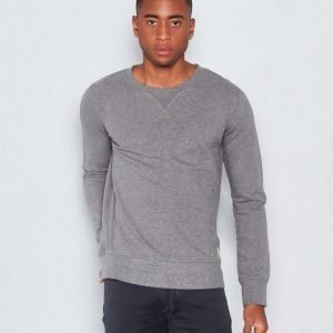 Nudie Jeans Sven Dark Grey Sweatshirt