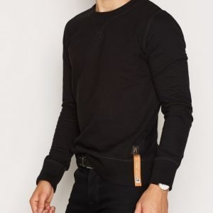 Nudie Jeans Sven Light Sweatshirt Pusero Black