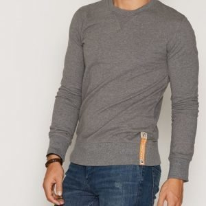 Nudie Jeans Sven Light Sweatshirt Pusero Dark Grey