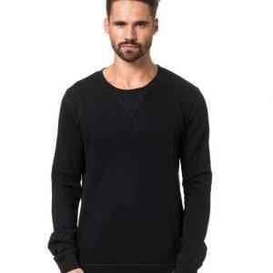 Nudie Jeans Sweatshirt Org. Back Bone Black