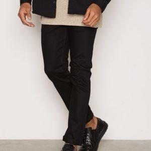 Nudie Jeans Tilted Tor Dry Cold Black Farkut Black