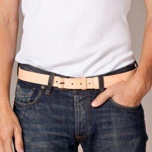 Nudie Jeans Wayne Leather Belt Vyö Natural