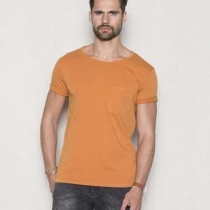 Nudie Jeans Worker Pocket Tee Orange