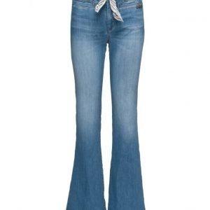 ODD MOLLY Deep Blue Jean leveälahkeiset farkut