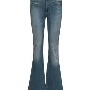 ODD MOLLY Janis Stretch Flare Jean leveälahkeiset farkut