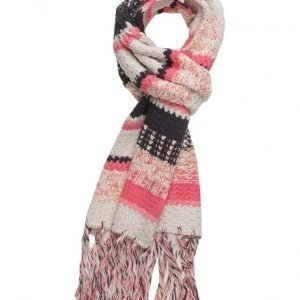 ODD MOLLY Mixed Knit Scarf huivi