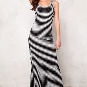 ONLY Abbie stripe sl long noos Black/Black