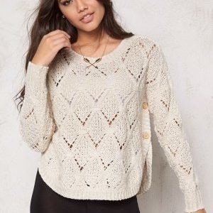 ONLY Amelia l/s Pullover Knit Cloud Dancer
