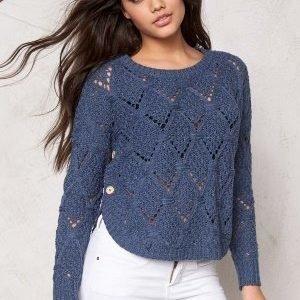 ONLY Amelia l/s Pullover Knit Vintage Indigo