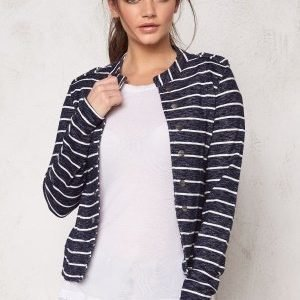 ONLY Anette Stripe Blazer Night Sky
