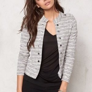 ONLY Anette Stripe Blazer Oatmeal